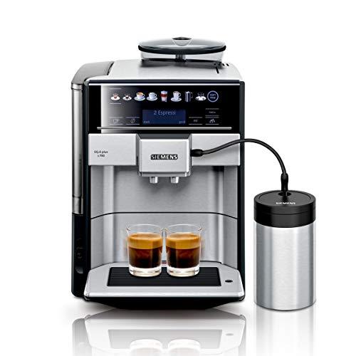 Siemens EQ.6 plus s700 Kaffeevollautomat TE657M03DE, automatische Reinigung, Direktwahl, zwei Tassen...