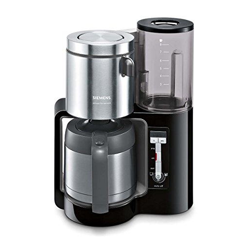 Siemens TC86503 Kaffeemaschine (1100 Watt, optimales Kaffeearoma, Timer-Funktion, abnehmbarer...