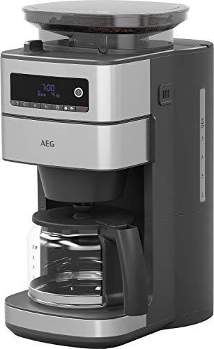 AEG CM6-1-5ST Kaffeemaschine / integriertes Mahlwerk / 3 Mahlgradeinstellungen / programmierbarer...