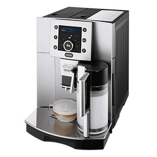 De'Longhi Perfecta ESAM 5500.S Kaffeevollautomat (1,8 l, Digitaldisplay, Integriertes Milchsystem,...