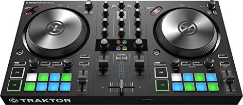 Native Instruments Traktor Kontrol S2 MK3 2-Kanal DJ Controller, 16 Pads, integrierte Soundkarte,...