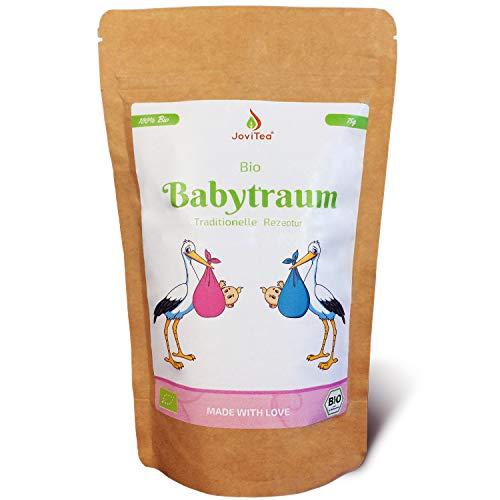 JoviTea® Babytraum Tee BIO – Traditionelle Rezeptur - spezielle Kräutermischung – aus...