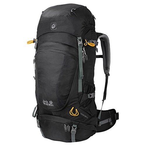 Jack Wolfskin Unisex Trekkingrucksack Highland Trail XT 50, black, 63 x 33 x 13 cm, 50 liters,...