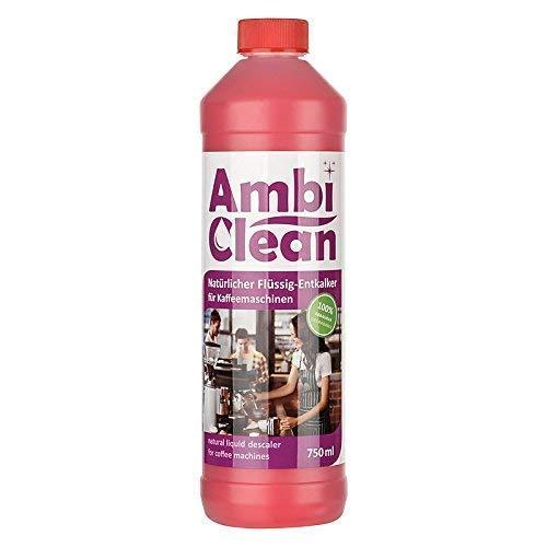 AmbiClean® Universal-Entkalker für Kaffeevollautomaten, Wasserkocher, Bügeleisen, etc. | Mit...