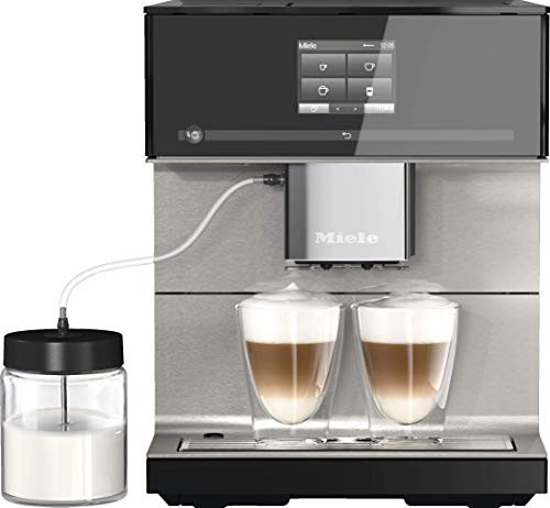 Miele CM 7550 CoffeePassion Kaffeevollautomat – OneTouch for Two, AromaticSystem, 10...