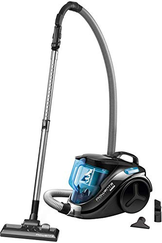 Rowenta RO3731 Compact Power Cyclonic; Beutelloser Staubsauger; Vacuum-Cleaner; Leise; 750 Watt; 1,5...