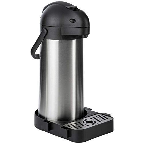 ONVAYA® Airpot Pumpkanne | Isolierkanne | Thermoskanne | Getränkespender | Edelstahl mattiert |...