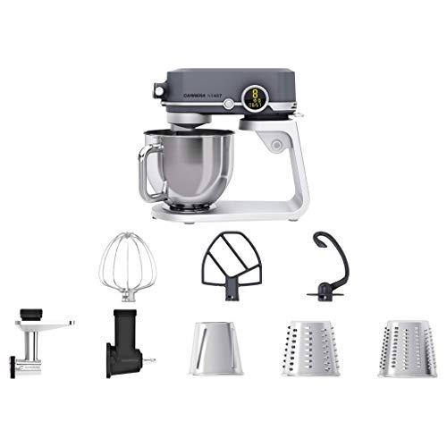 CARRERA Küchenmaschine No 657, Testsieger, 800 Watt, 5l, Edelstahl-Rührschüssel, Planetarisches...