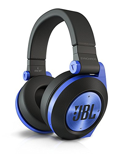 JBL E50 BT Wireless Bluetooth Over-Ear Stereo-Kopfhörer (Aufladbar, Superweichem Ohrpolster...