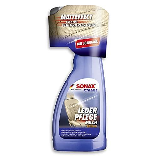 SONAX XTREME LederPflegeMilch (500 ml) Zur schonenden Reinigung und intensiven Pflege von glattem...