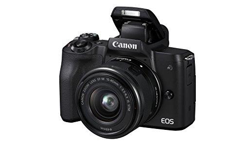 Canon EOS M50 spiegellos Systemkamera (24,1 MP, dreh- und schwenkbares 7,5 cm (3 Zoll) Touchscreen...