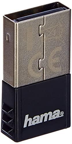 Hama USB Bluetooth Adapter 4.0 C1 (Nano Bluetooth Dongle zur Aufrüstung von PC und Notebook,...
