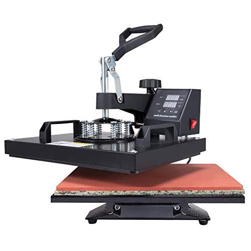 Valens Hitzepressemaschine 38x30cm Heißpresse Textilpresse Transferpresse Heat Press...