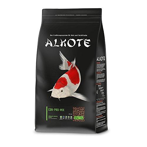 AL-KO-TE, 3-Jahreszeitenfutter für kleine Kois, Frühjahr bis Herbst, Schwimmende Pellets, 3 mm,...