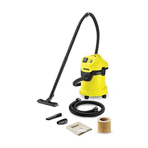 Kärcher Mehrzwecksauger WD 3 P Extension Kit (Behältergröße: 17 l, Tatsächliche Saugleistung:...