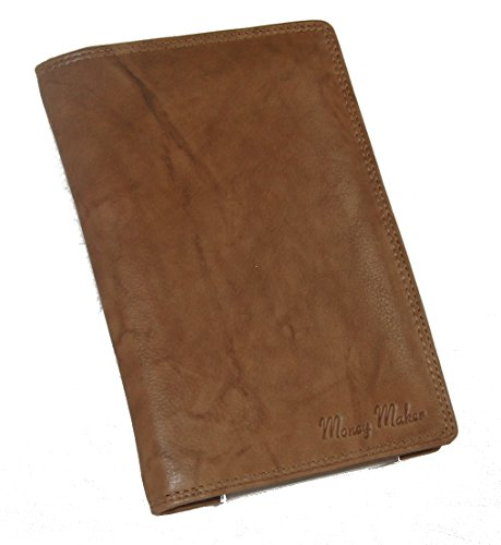 Große Herren Leder Brieftasche Ausweismappe verschiedene Farben -- präsentiert von RabamtaGO® --...