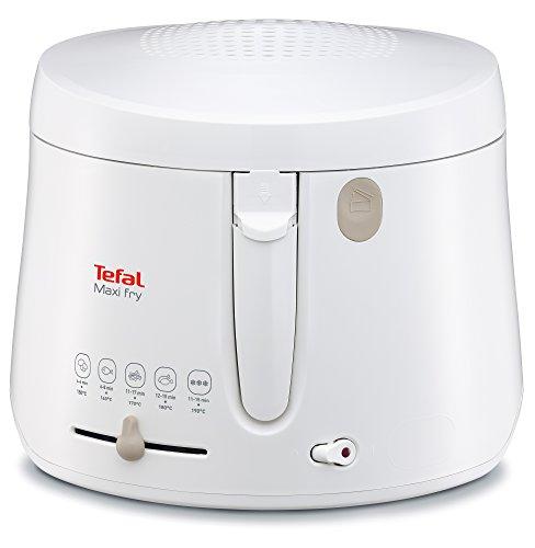Tefal FF1000 Maxi Fry Fritteuse (1.900 Watt, Kapazität 1,2 kg, Fritteuse mit Öl, wärmeisoliert,...