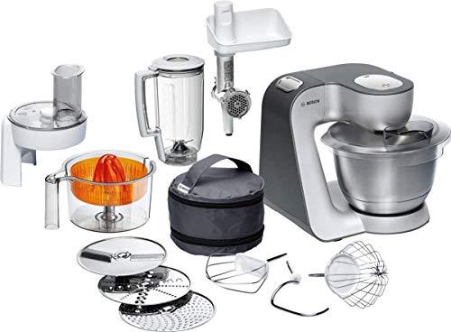 Bosch Küchenmaschine MUM5 Styline MUM56340, Schüssel 3,9 L, Mixer 1,25 L, Fleischwolf,...