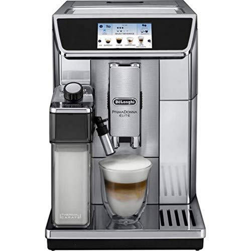 DeLonghi ECAM650.75MS Prima Donna Elite Kaffeevollautomat, Edelstahl, TFT...