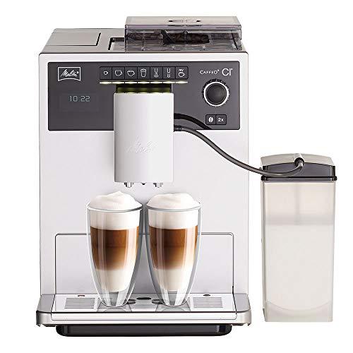 Melitta Caffeo CI E970-101 Kaffeevollautomat | mit Milchbehälter | Zweikammern-Bohnenbehälter |...