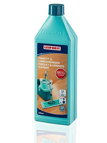 Leifheit Parkett/Laminatreiniger 1000 ml Konzentrat, Parkettpflege ohne Schlieren und...