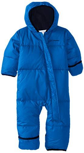 Columbia Snuggly Bunny Mono de esquí infantil, Niño, Azul (Super Blue, Collegiate Navy Heather),...