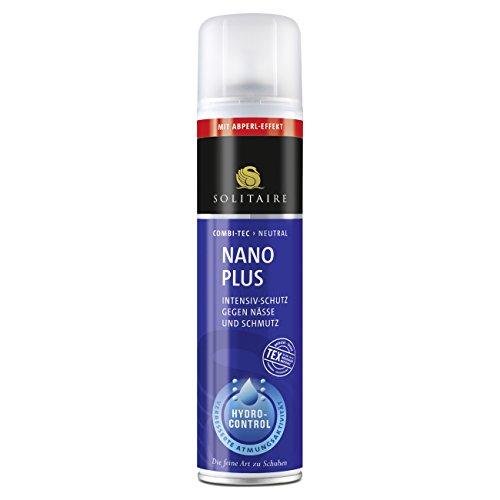 Solitaire Nano Plus Imprägnierspray 400ml Schutz gegen Nässe und Schmutz geeignet für alle Glatt-...