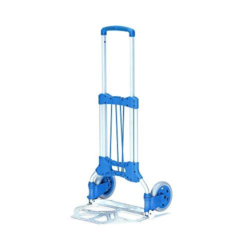 fetra Paketroller/1732 H109xB48,8xT50 cm blau 125 kg 5,2 kg