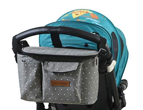 Buggy Kinderwagen Organizer Kinderwagentasche Wickeltasche Wickelrucksäcke Baby Universale...