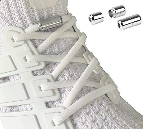 Laceton Elastische Schnürsenkel   Schnellschnürsystem mit hochwertigem Metall Lock-Verschluss -...