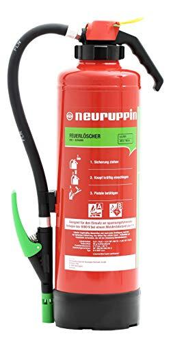Neuruppin 6L Schaum Auflade-Feuerlöscher S6SKP eco Premium 10 LE inkl. ANDRIS® ISO-Symbolschild,...