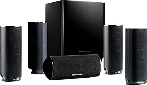 Harman/Kardon HKTS 16 5.1-Kanal Lautsprechersystem (Surroundsound mit Heimkinoklang, Inkl. 4 Dual...