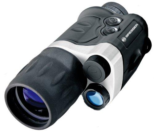 Bresser monokulares Nachtsichtgerät NightSpy 3x42 vollvergütet mit Stativanschlussgewinde und...