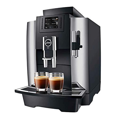 Jura WE8 Kaffeevollautomat, 1450 W, Stainless Steel, Chrom/Schwarz
