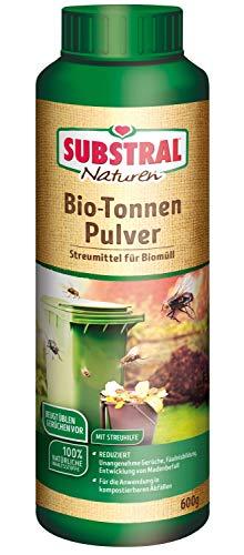 Substral Naturen Biotonnenpulver gegen Maden, Mülltonnenpulver für den Biomüll, gegen Madenbefall...