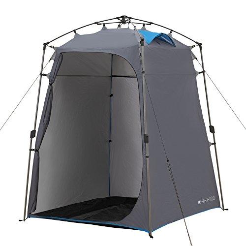 Qeedo Quick Shower Cabin, Duschzelt und Mobile Umkleidekabine (Blickdicht)