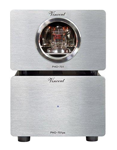 Vincent PHO-701, High-End Röhren-Phono-Vorverstärker, externes Netzteil, USB-Ausgang zum...