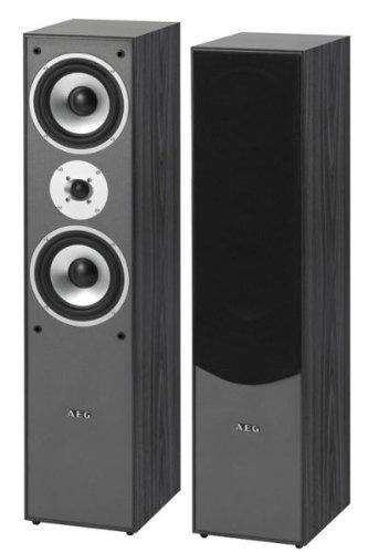 AEG LB 4711 2-Wege Bassreflex-Lautsprecherboxen, 500 Watt PMPO