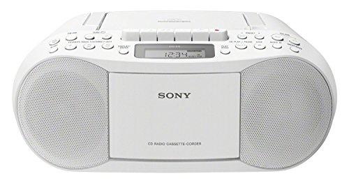 Sony CFD-S70 Boombox (CD, Kasette, Radio) weiß