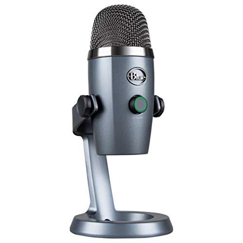 Blue Microphones Yeti NANO USB-Mikrofon für Aufnahme und Streaming auf PC und Mac, verstellbares...