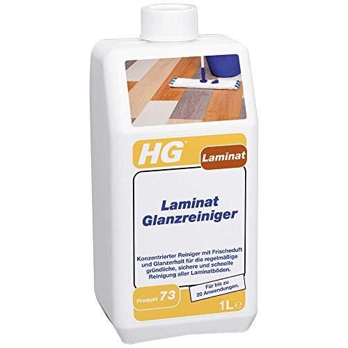 HG Laminat Glanzreiniger 1L – Ein Frisch Duftender Laminat Glanz - Für alle Arten von...