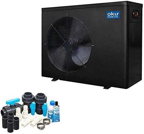 well2wellness Wärmepumpe Oku Inverter Line 8 - Poolheizung mit Einer Heizkapazität bis 8 kW +...