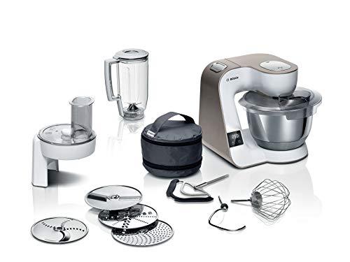 Bosch MUM5XW20 MUM 5 Küchenmaschine, integrierte Waage, große Edelstahlschüssel (3,9l),...