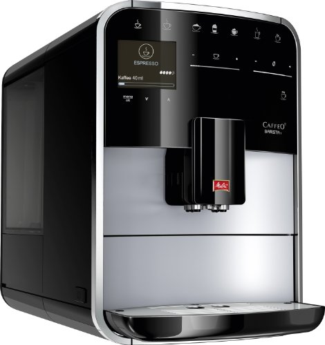 Melitta Caffeo Barista T F731-101, Kaffeevollautomat mit intenseAroma Funktion, One Touch Funktion,...