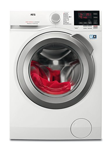 AEG L6FB67400 Waschmaschine Frontlader/A+++ / 1400UpM / Mengenautomatik/großes Fassungsvermögen