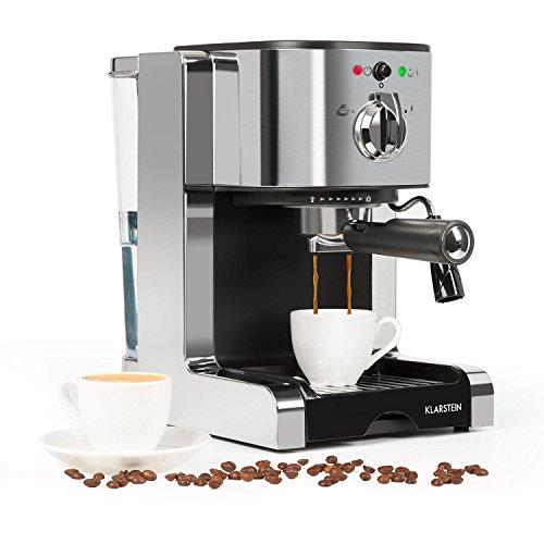 Klarstein Passionata 15 Espressomaschine Espresso-Automat Kaffee-Maschine 1470 Watt 1,25 Liter...