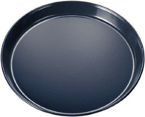 Bosch HEZ317000 Zubehör für Backöfen / Pizzaform / Grau / 35 cm Durchmesser / innen und außen...