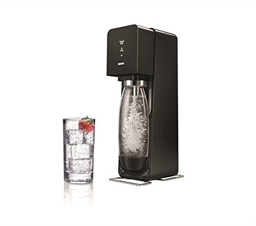 SodaStream Source New Wassersprudler, Noire, one Size
