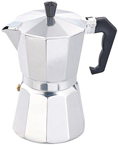 Cucina di Modena Espressokocher: Espresso-Kocher für 6 Tassen, für Gas, Elektro-Herd und...