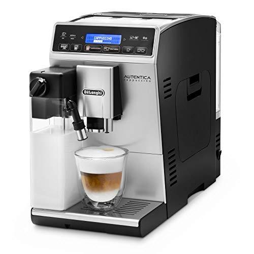 De'Longhi Autentica Cappuccino ETAM 29.660.SB Kaffeevollautomat mit Milchsystem, Cappuccino und...